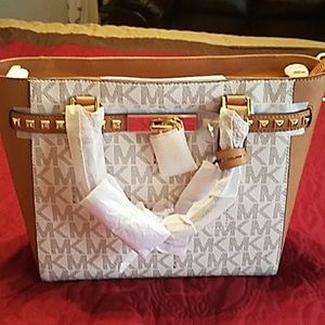 New vanilla mk bag Never used